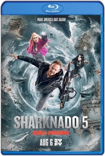 Sharknado 5 Aletamiento global (2017) HD 720p Latino