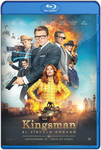 Kingsman El círculo dorado (2017) HD 720p Latino