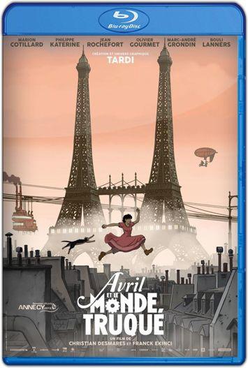 Abril y el mundo extraordinario (2015) HD 720p Latino
