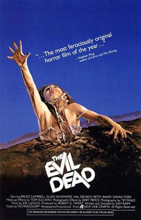 The Evil Dead (1981) BluRay 720p Subtitulados