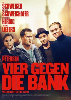 Cuatro contra el Banco (2016) HD 720p Español