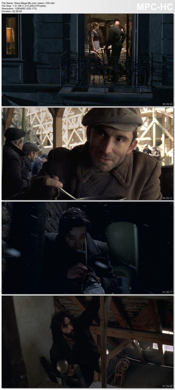 Descargar El pianista (2002) HD 720p Latino y Subtitulada 1 Link Mega MKV